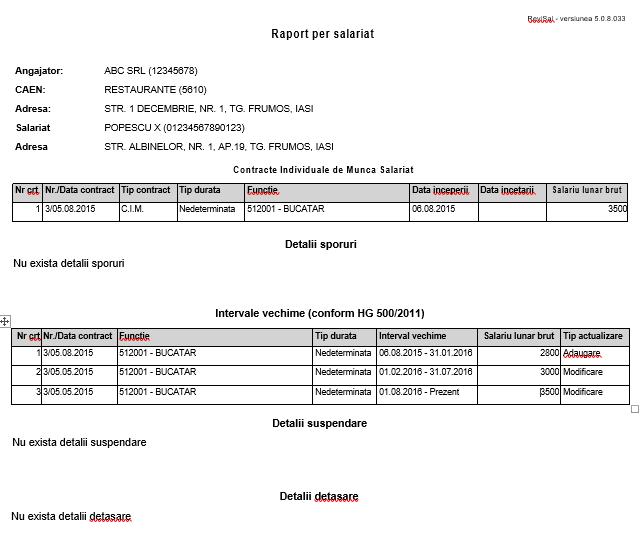 Ce este un raport in Revisal si cum il poti obtine